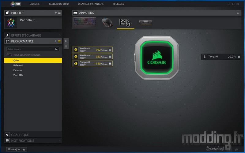H100i Pro RGB Log 15