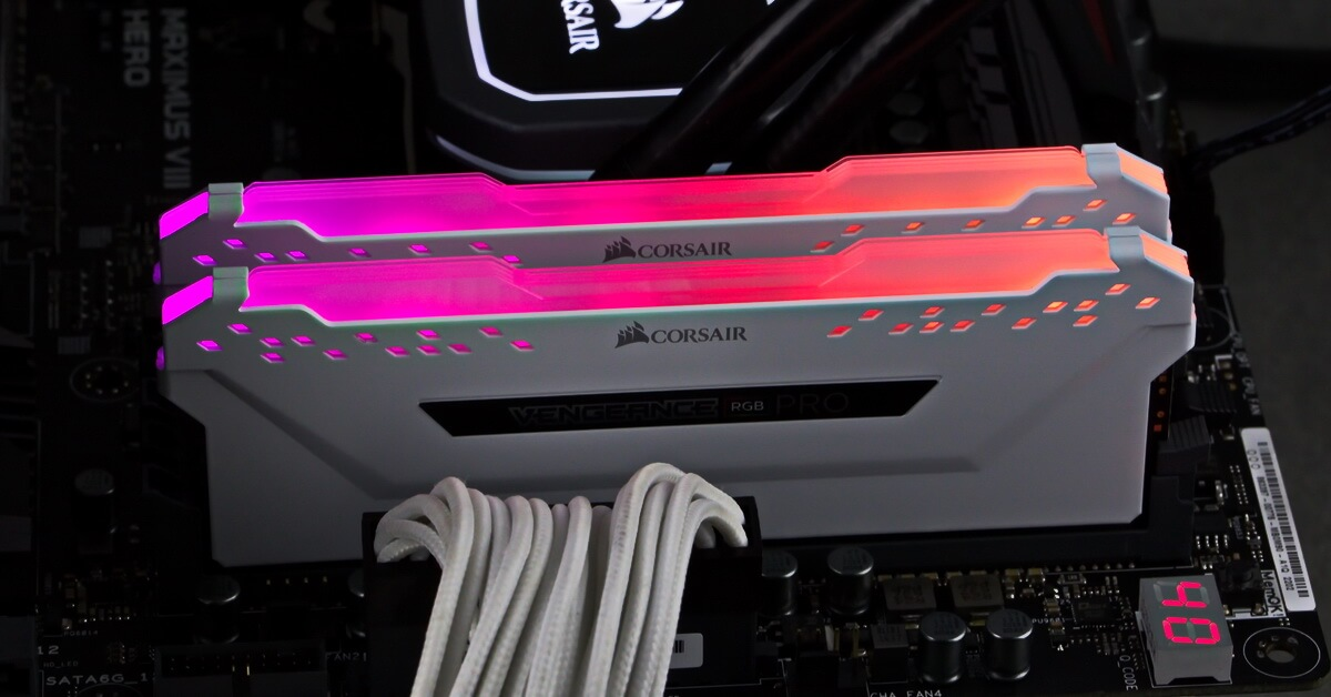 [TEST] Kit DDR4 Corsair Vengeance RGB Pro 16Go 3200 MHz
