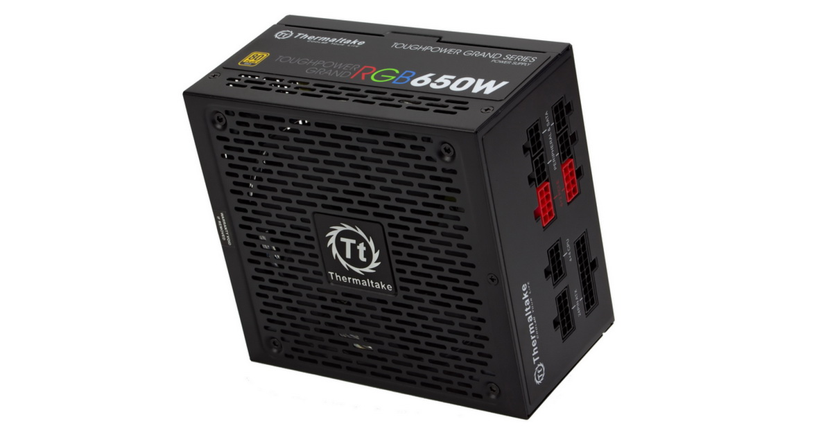 [TEST] Alimentation Thermaltake Toughpower Grand RGB 650 W