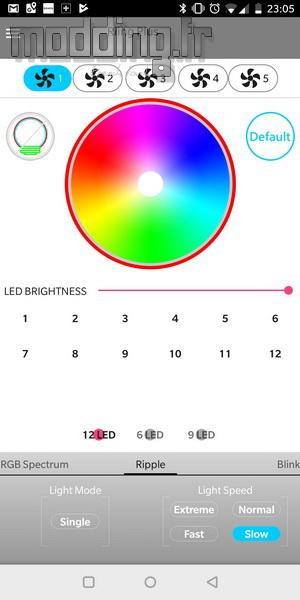 Floe Riing RGB Log 40