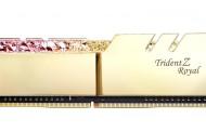 De l'or, de l'argent et du cristal pour la nouvelle Trident Z Royal