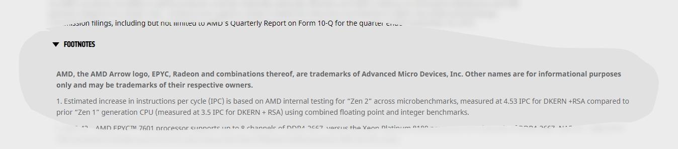 AMD repport zen 2