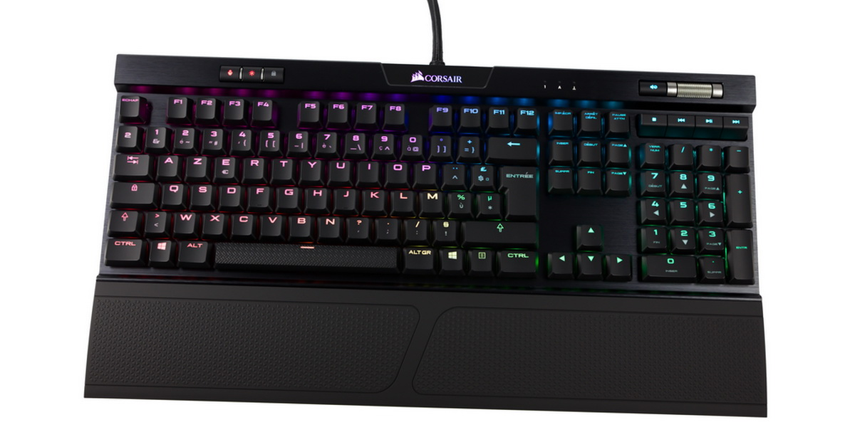 [TEST] Clavier Corsair K70 MK2 Low Profile