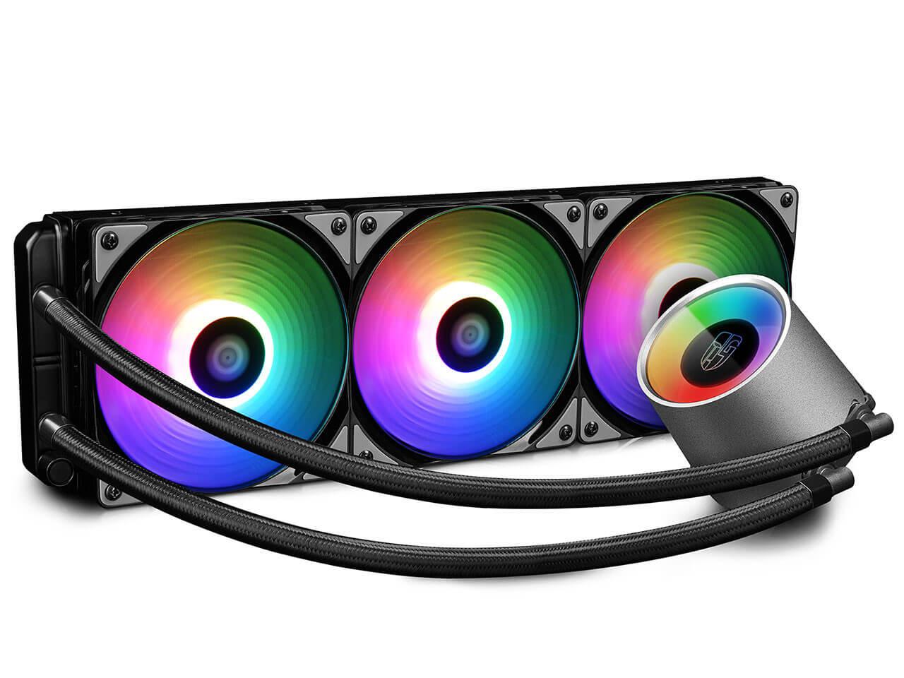 DeepCool annonce une version 360 mm de son GamerStorm Castle RGB