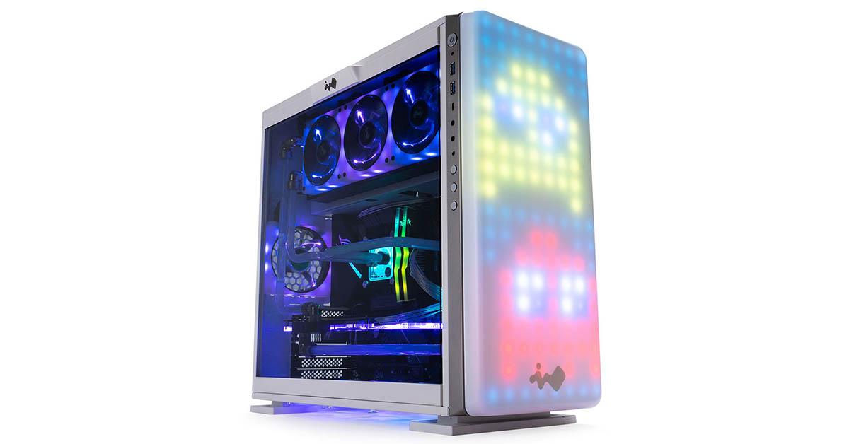 In Win 307 RGB avec son panneau avant