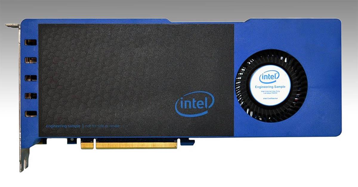 Le GPU d'Intel adoptera une nouvelle architecture, une apparence unique, et sera disponible en 2020