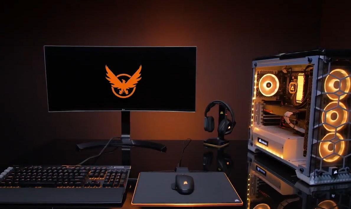 Corsair s'associe à Ubisoft pour mettre en lumière The Division 2