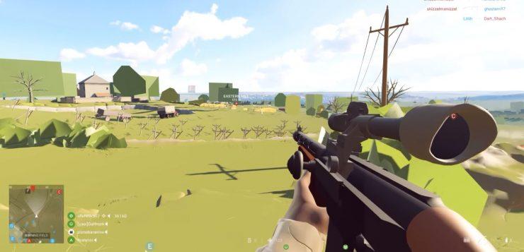 Les joueurs pro de Battlefield V utilisent des paramètres graphiques inférieurs au minimum...pour gagner