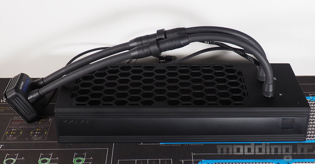 [TEST] Alphacool Eisbaer Extreme Liquid CPU Cooler 280 - Black Edition