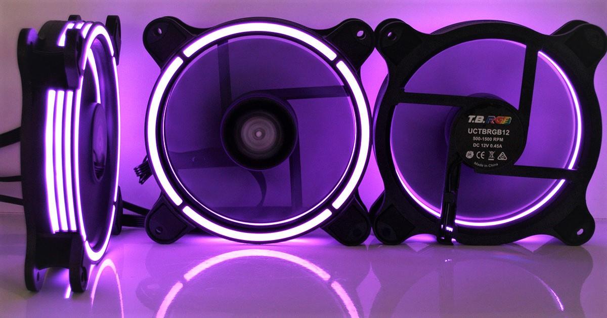 [TEST] Ventilateurs Enermax T.B RGB 12 et T.B RGB 14