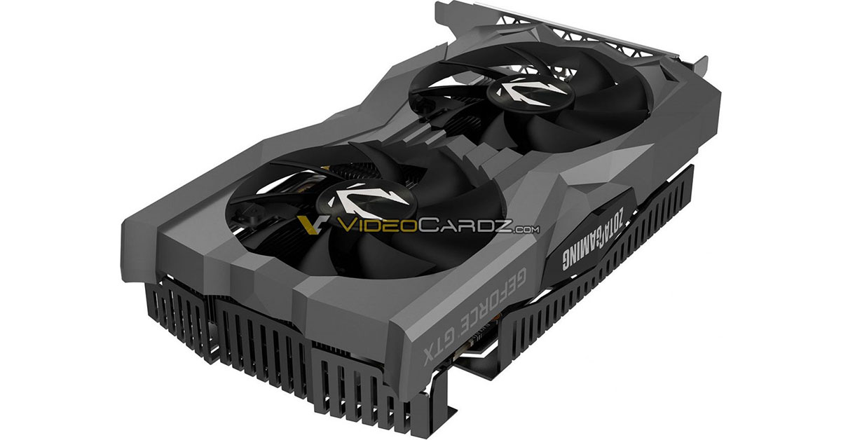 Zotac GeForce GTX 1660 Ti AMP & Twin Fan : premières images