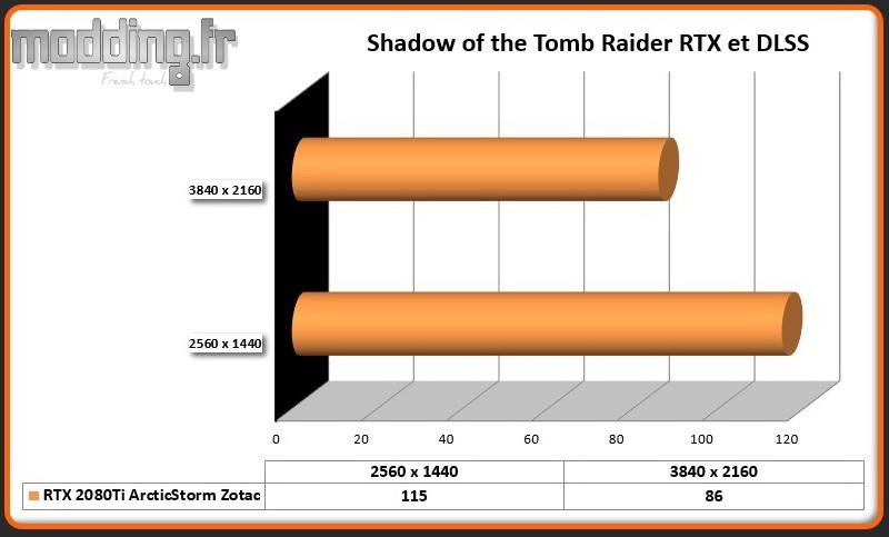 Jeu 01 Shadow of the Tomb Raider DLSS RTX 2080Ti ArcticStorm