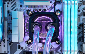 Corsair lance son watercooling custom