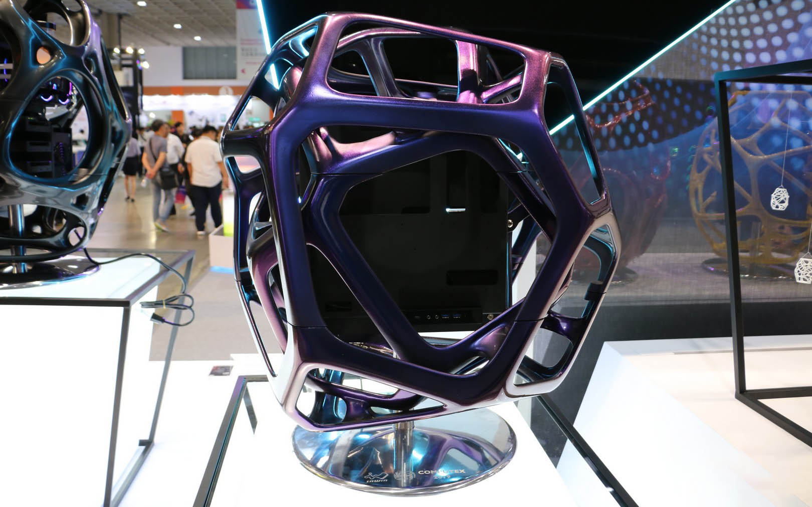 InWin Yong un châssis unique imprimé en 3d