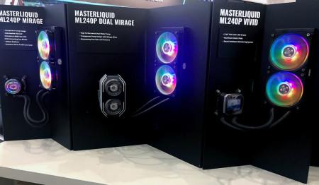 cooler master aio double pompe computex