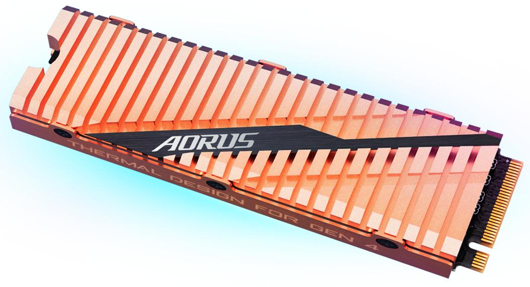 Le SSD PCIe 4.0 Aorus NVMe Gen4 à partir de 199 euros