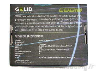 Gelid Codi6 box back