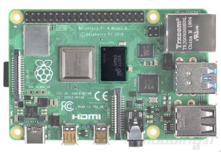 Raspberry pi 4 board ram focus