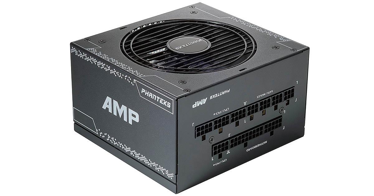 Phanteks lance sa gamme d'alimentation AMP