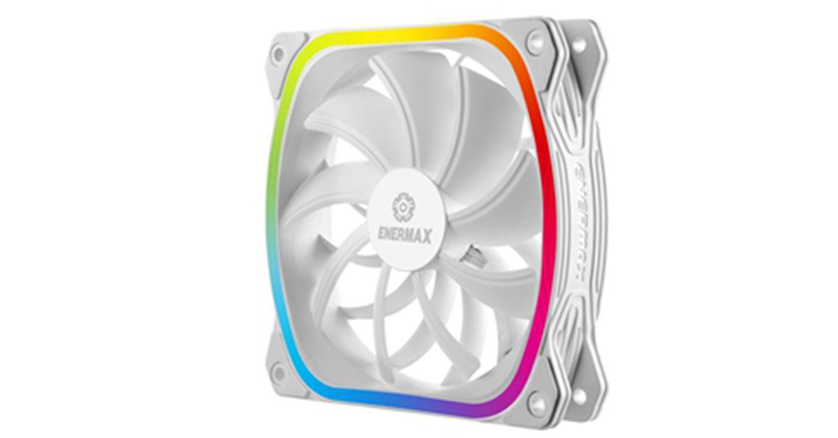 Enermax passe ses SquA RGB au blanc