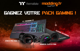 Gagnez un pack gaming avec Thermaltake