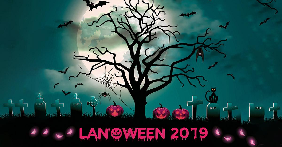 Nous serons à la LAN'Oween 2019