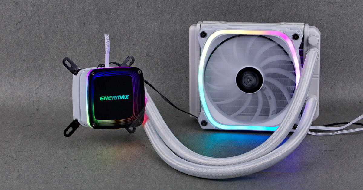 [TEST] AIO Enermax Aquafusion White 120