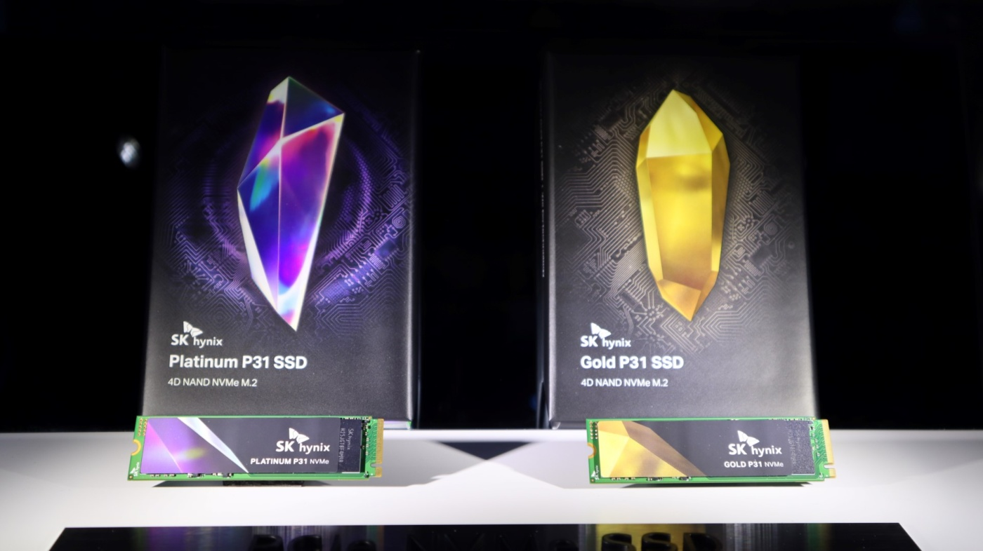 [ CES ] Le premier SSD NVMe grand public de SK Hynix arrive