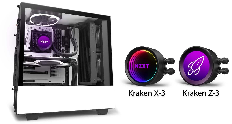 NZXT annonce les Kraken X-3 et Z-3