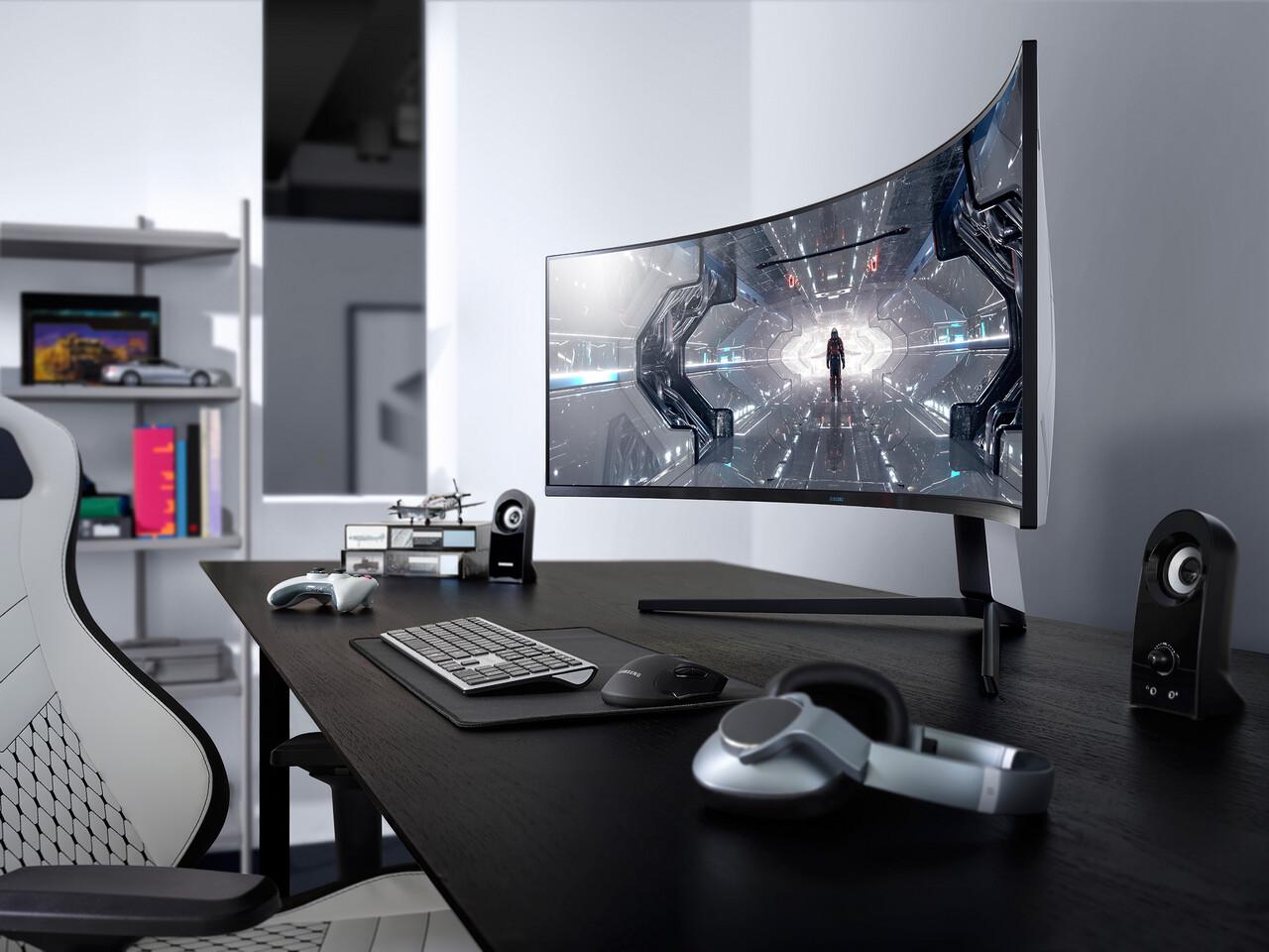 Samsung dévoile sa nouvelle gamme de moniteurs de jeu Odyssey