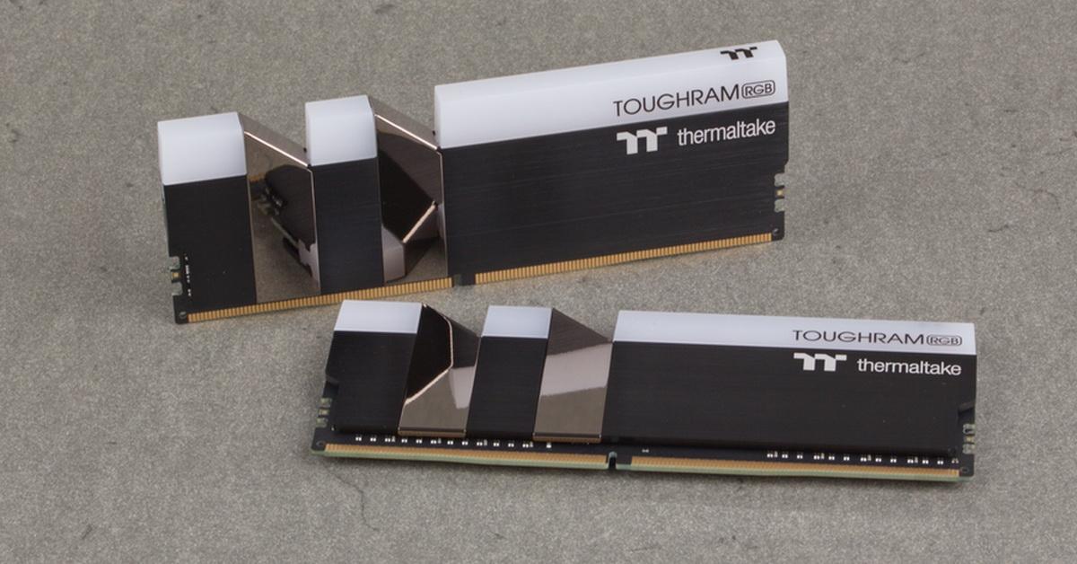 [TEST] Kit DDR4 Thermaltake ToughRam RGB 16 Go 4000 MHz