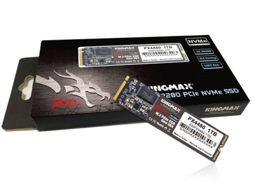 KINGMAX annonce du SSD M.2 en Gen 4