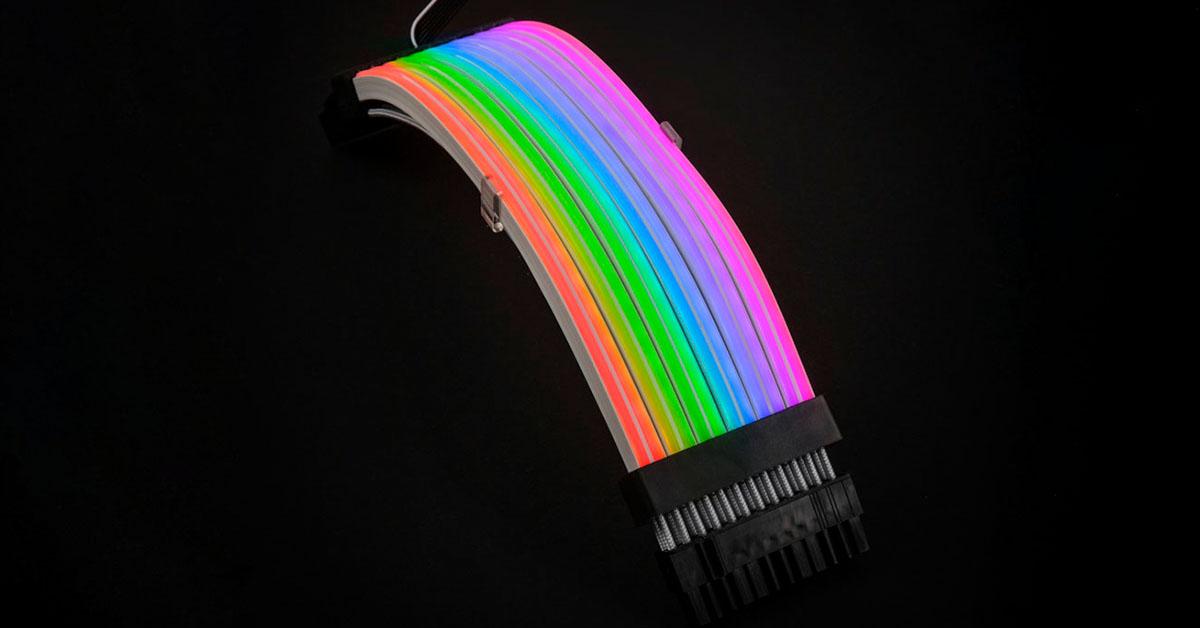 Lian Li lance ses câbles d'alimentation RGBa 24-pin & 8-pin