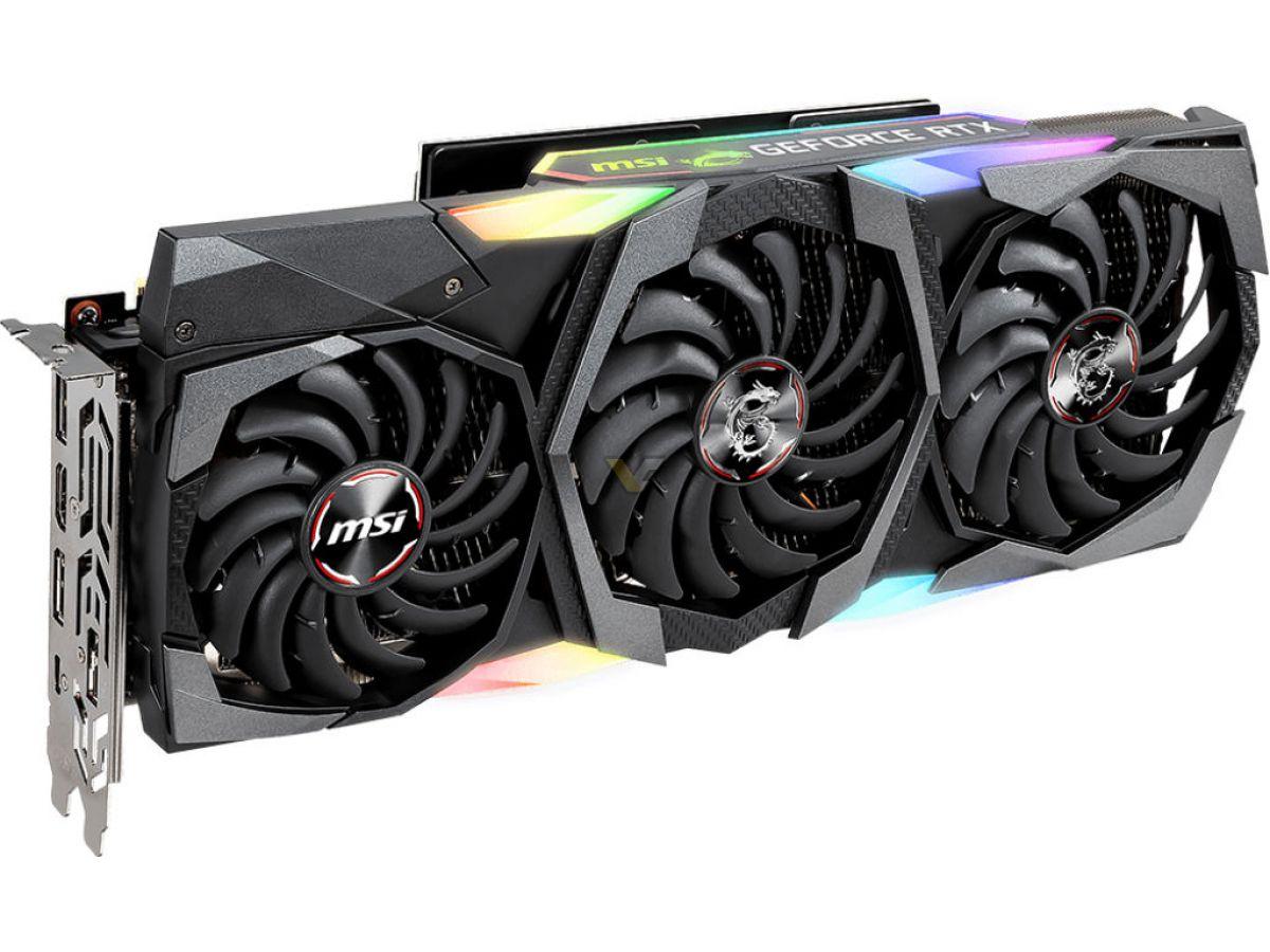 MSI prépare une GeForce RTX 2080 Ti Gaming Z Trio, avec une mémoire GDDR6 @ 16 GHz