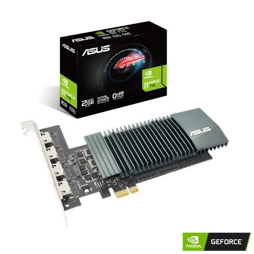 ASUS lance la nouvelle GeForce GT 710 avec 4 ports HDMI