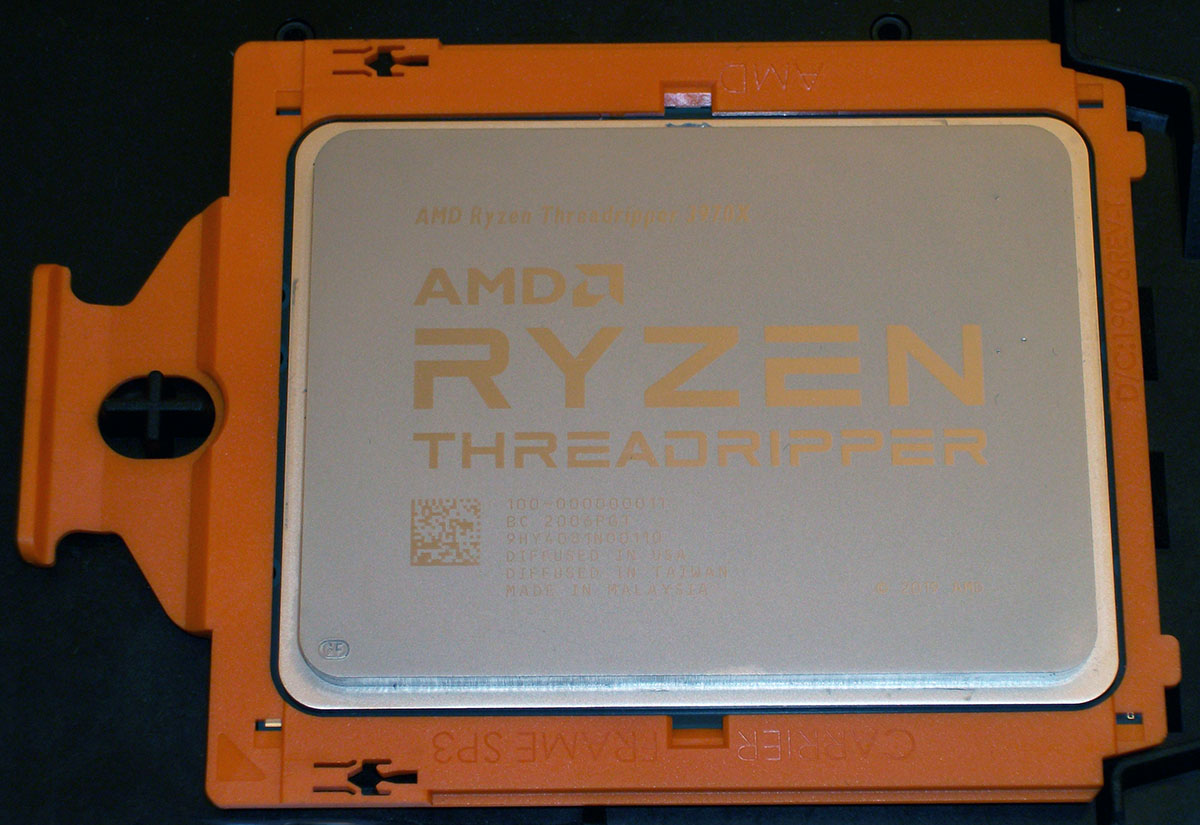 [TEST] AMD Ryzen Threadripper 3970X