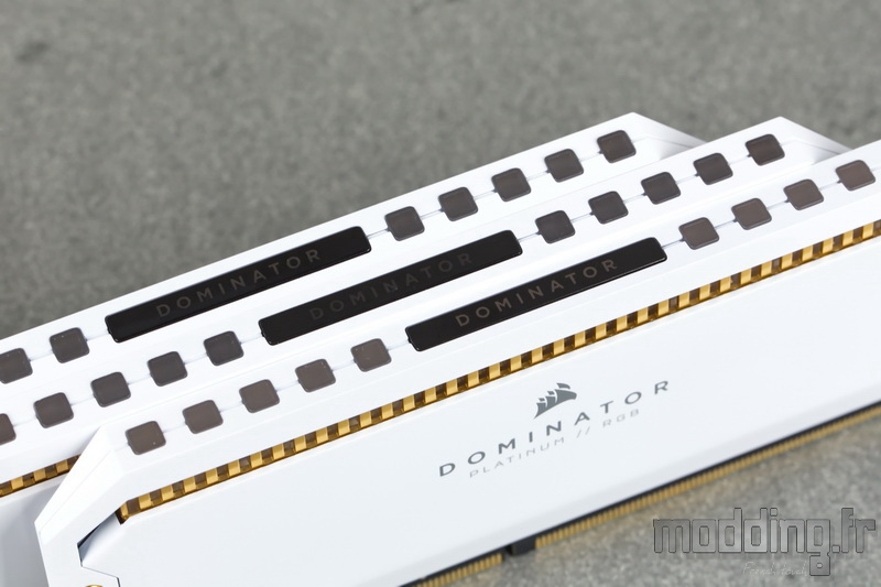 Dominator Platinum RGB White 18
