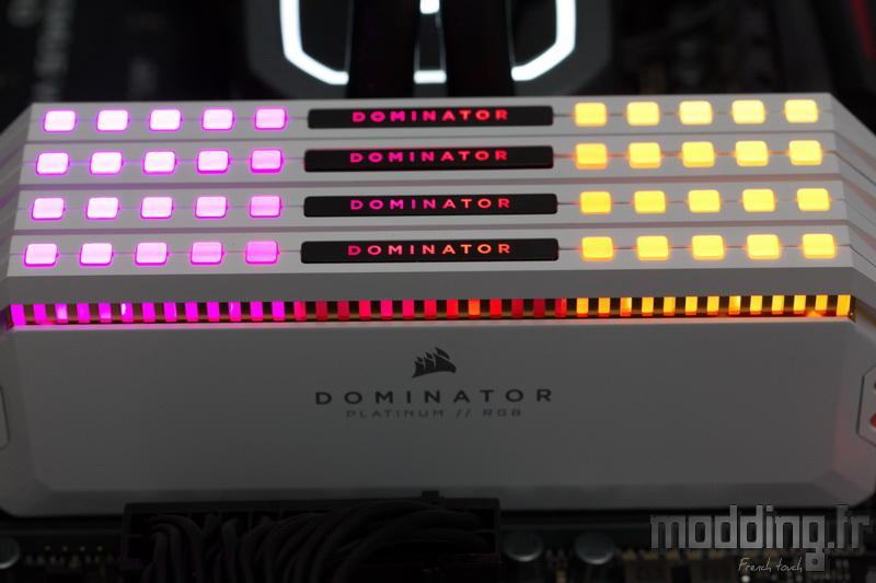 Dominator Platinum RGB White 35