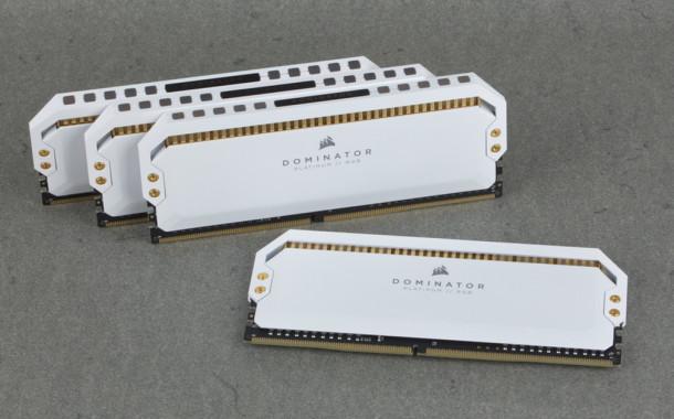 [TEST] Kit DDR4 Corsair Dominator RGB Platinum White 32 Go 3200 MHz CL16