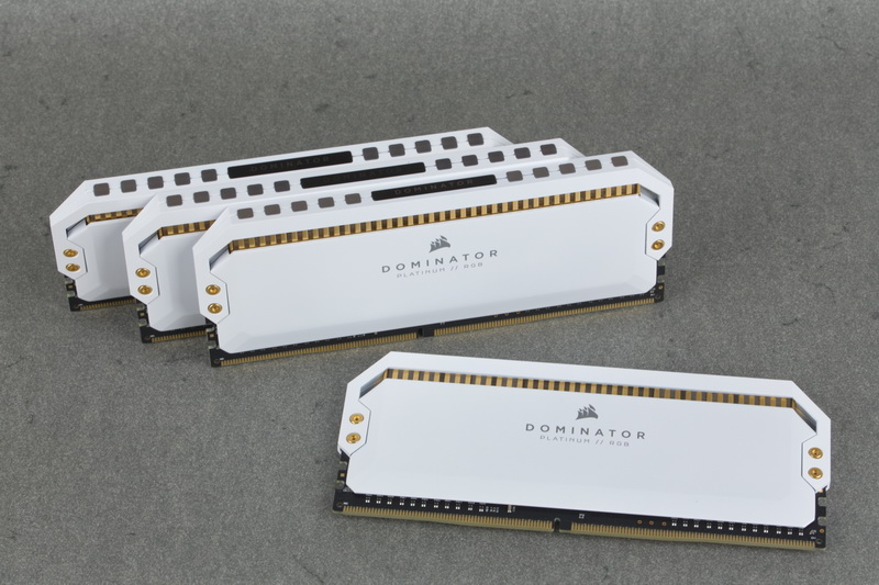 Dominator Platinum RGB White Intro