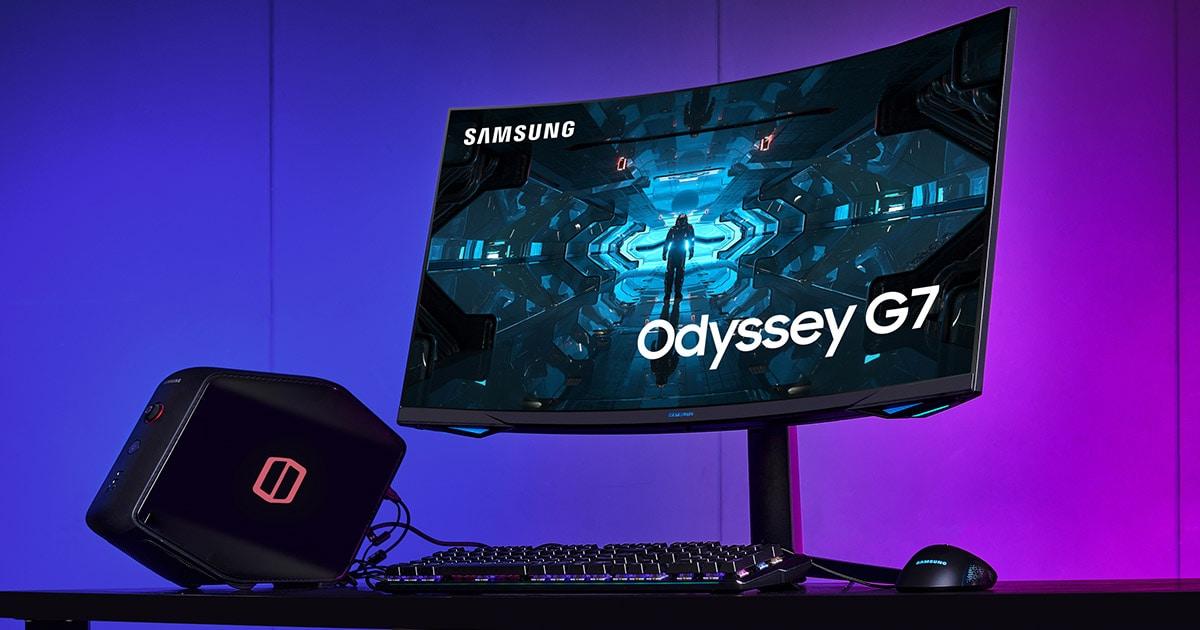 Samsung lance le moniteur gaming QLED 240 Hz incurvé Odyssey G7