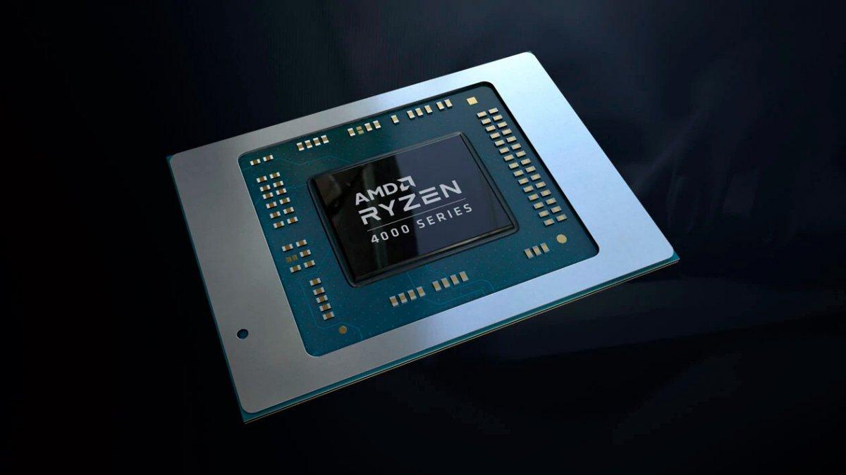 Un APU Ryzen 7 4700G à 4.75 GHz sur 8 cœurs