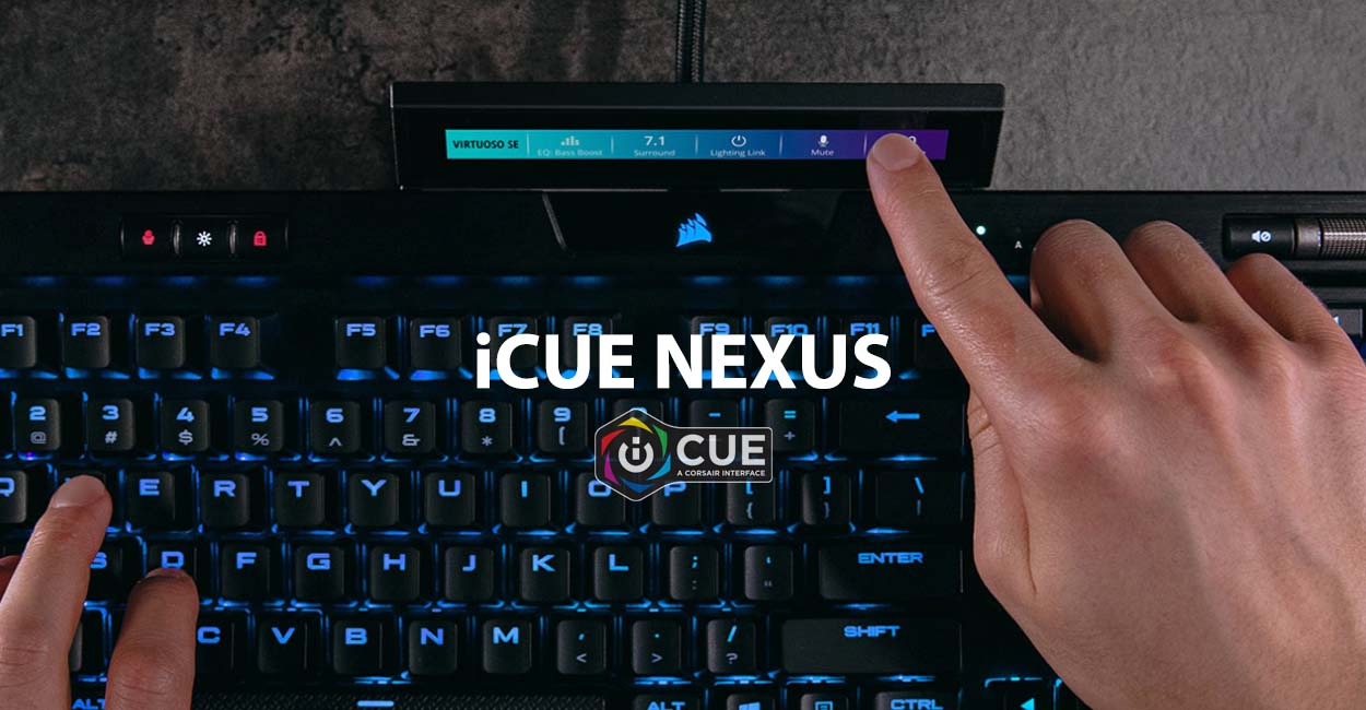 CORSAIR lance son écran de monitoring iCUE NEXUS