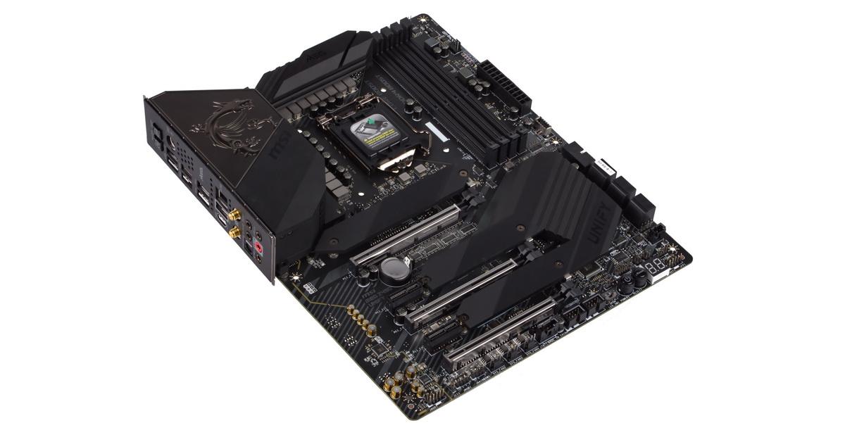 [TEST] Carte mère MSI MEG Z490 Unify - CPU Intel i7 10700k