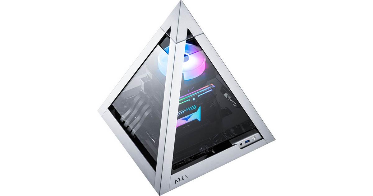 Un boîtier en forme de pyramide: Azza Pyramid 806 Mini-ITX