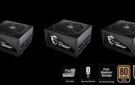 MSI annonce la gamme d'alimentations MPG GF avec prise en charge des dernières cartes graphiques NVIDIA