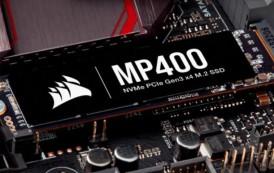 CORSAIR augmente la capacité de ses MP400, jusqu'à 8 To!