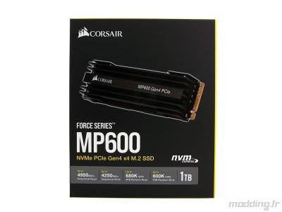 Corsair MP600 boite face