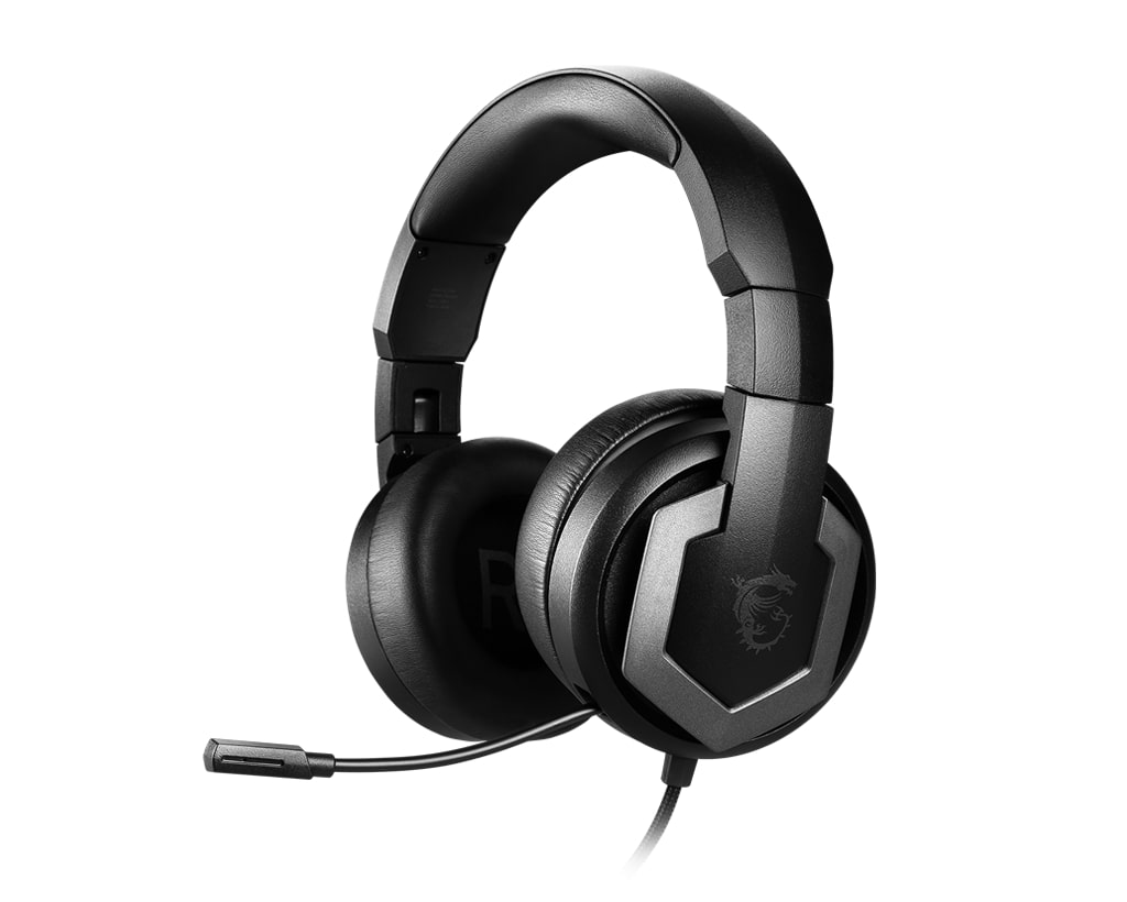 MSI annonce un casque gaming HiRes, le IMMERSE GH61