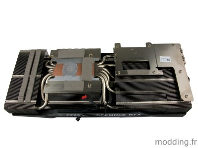 radiateur MSI RTX 3060TI GAMING X TRIO